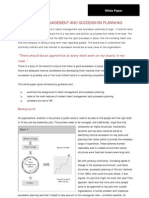 White Paper - Talent Management and Succession Planning