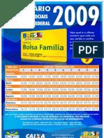 Calendario Bolsa Família Pagamento 2009