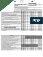 2013 Election Monitoring PWD Checklist