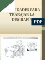 actividadesparatrabajarladisgrafa-120325144235-phpapp02