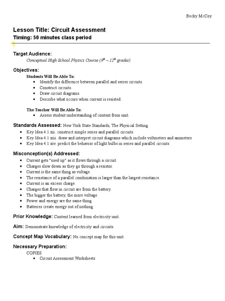 Workbooks » Physics Worksheets High School - Free Printable ...