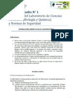 Elementos de Lab y Normas de Seguridad