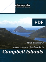 Landmarks and attractions in Campbell Islands