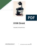 X100 Droid
