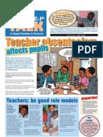 Teacher Talk, May 2008