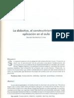 la didáctica, el constructivismo y su aplicación en el aula