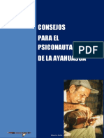 CONSEJOS PARA EL PSICONAUTA DE LA AYAHUASCA