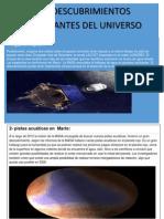 9 Descubrimientos Del Universo