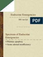 Emergências endocrinológicas - Apoplexia e Insuficiência Adrenal