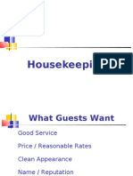 Hotel House Keeping