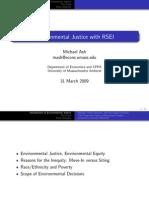 Measuring Corporate Environmental Justice Performance (Presentation) - Michael Ash