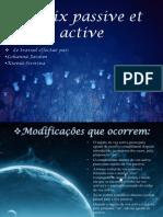 Voix Passive Et Active