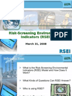 EPA's RSEI Model