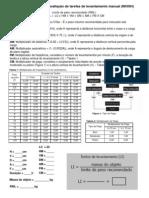 Equação - folha de aplicação