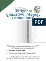 PEIC 2010-2011b. Escuela Pedro Elias A