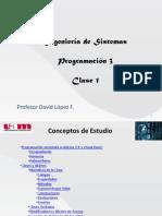 UAM - Progra 3 - Clase 1