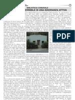 Articolo de La Specula (n°3) Biblioteca Comunale Nulla è piu terribile di una ignoranza attiva