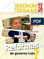 Revista Universidade e Socieadade n° 34