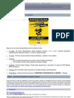 CAD, Boletín ESPECIAL Nº 5
