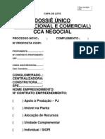 CAPA DE LOTE - DOSSIÊ ÚNICO CCA - V002