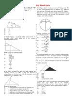 geometria plana - triângulos (lista i)