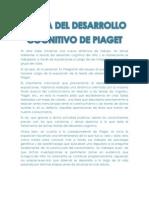 BITÁCORA DESARROLLO. PIAGET