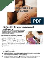 Hipertensión del embarazo EXPOO