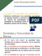 Consideraciones Generales Sobre Sociedades