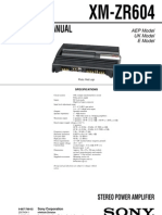 Sony_XM-ZR604-Ver. 1.1 2007. 08 Car Audio Amplifier Sm