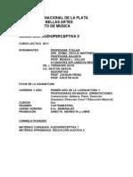 Audioperceptiva II 20111
