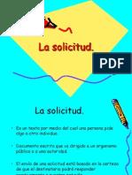 La Solicitud 2009 y El Curriculum