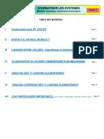 Schematisation Des Systemes - SCM Et Liaison TSI1
