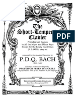 Bach, PDQ - Short-Tempered Clavier