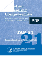 TAP 21 Addiction Counseling Competencies