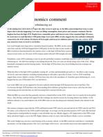 130513 Australian Economics Comment - Lower AUD Would Help Rebalancing Act (1)