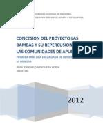 Proyecto Las Bambas. 3.2