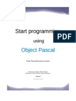 Start Programming Using Object Pascal Freepascal-lazarus Book