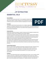 Methods of Extracting Essential Oils 08032012 0918
