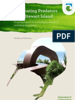 Eliminating Predators From Stewart Island New Zealand