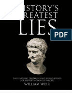 Weir, William - History's Greatest Lies