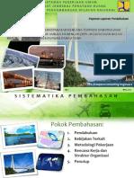 Bahan Presentasi Pendahuluan Penyempurnaan dan Penyepakatan Rencana Terpadu dan Program Investasi Infrastruktur Jangka Menengah (RPI2-JM) Kawasan Batam-Bintan-Karimun dan Kawasan Danau Toba pada TA 2013