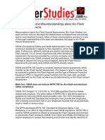 PowerStudies - Misconceptions About Arc Flash Hazard Assessments