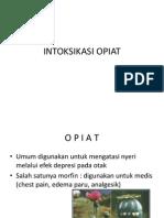 INTOKSIKASI OPIAT -