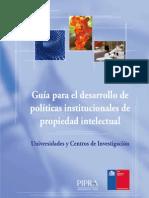 Guia de FIA Para El Desarrollo Politicas de PI