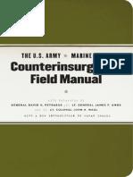 The U.S. ArmyMarine Corps Counterinsurgency Field Manual