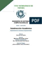 Instituto TECNOLÓGICO de Tijuana 2