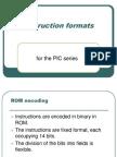 Instruction Formats