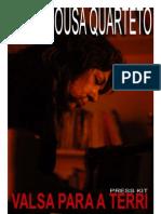 Paula Sousa Quarteto Rita Press Kit