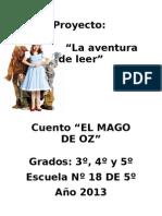 Proyecto Mago de Oz Esc18-5to