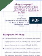 Sample Ppt David Research Proposal